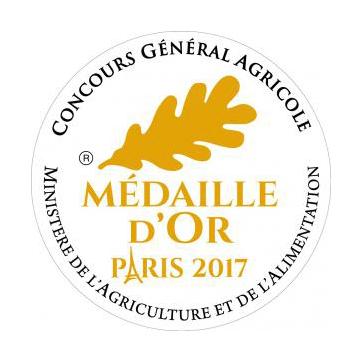 médaille d'or 2017 concours général agricole Paris - Domaine Rotier