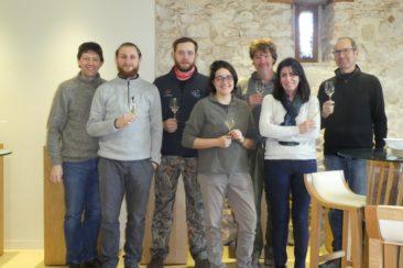 L'équipe du Domaine Rotier