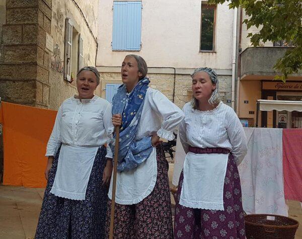 Mémines : les mémés vigneronnes font le spectacle